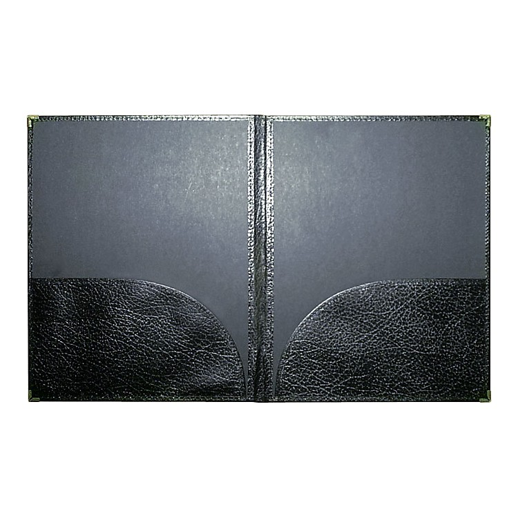 Deer River Deluxe Leatherette Band Folio Black
