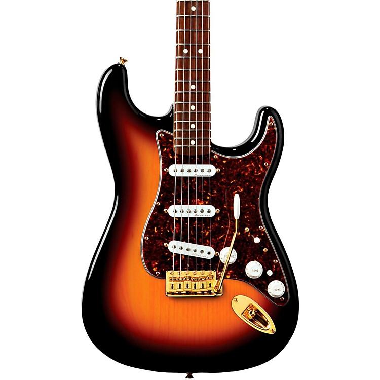 FenderDeluxe Players Stratocaster Electric Guitar3-Color SunburstRosewood Fretboard