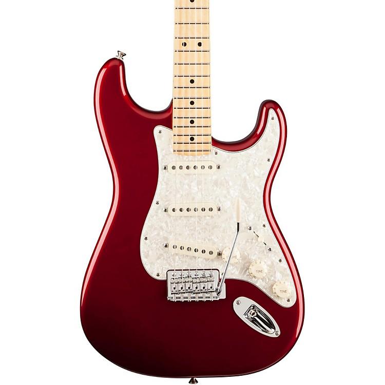 FenderDeluxe Roadhouse Stratocaster Electric GuitarCandy Apple RedMaple Fretboard