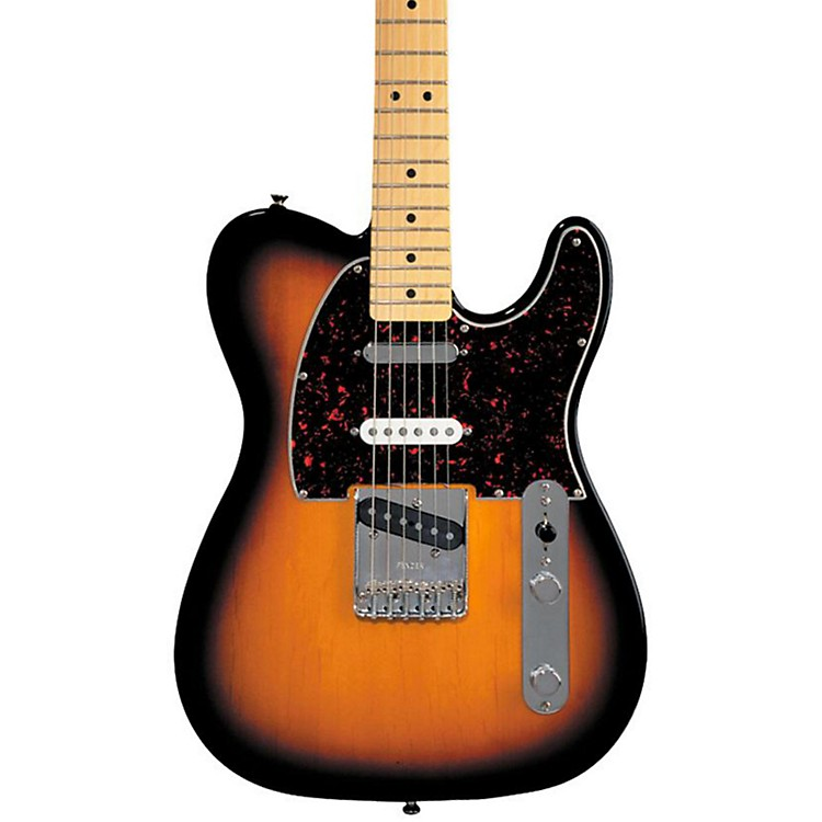 Fender Deluxe Series Nashville Telecaster Electric Guitar Brown Sunburst Maple Fretboard