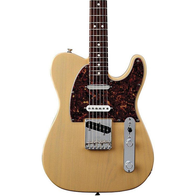 FenderDeluxe Series Nashville Telecaster Electric GuitarHoney BlondeRosewood Fretboard