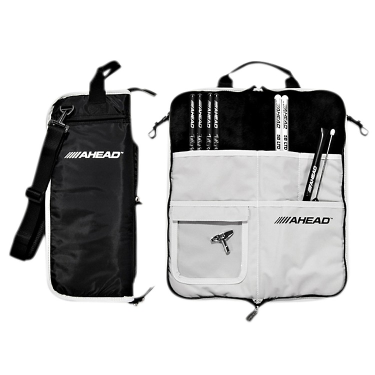 AheadDeluxe Stick BagBlack with Gray Trim, Gray Interior
