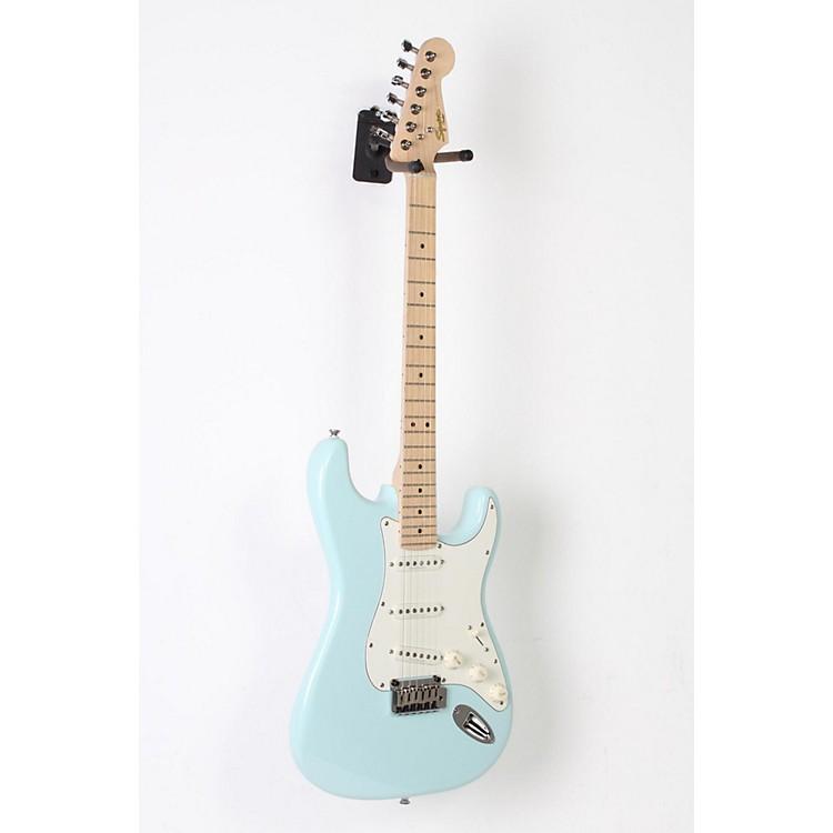 squier deluxe strat electric guitar daphne blue 190839020321 music123. Black Bedroom Furniture Sets. Home Design Ideas