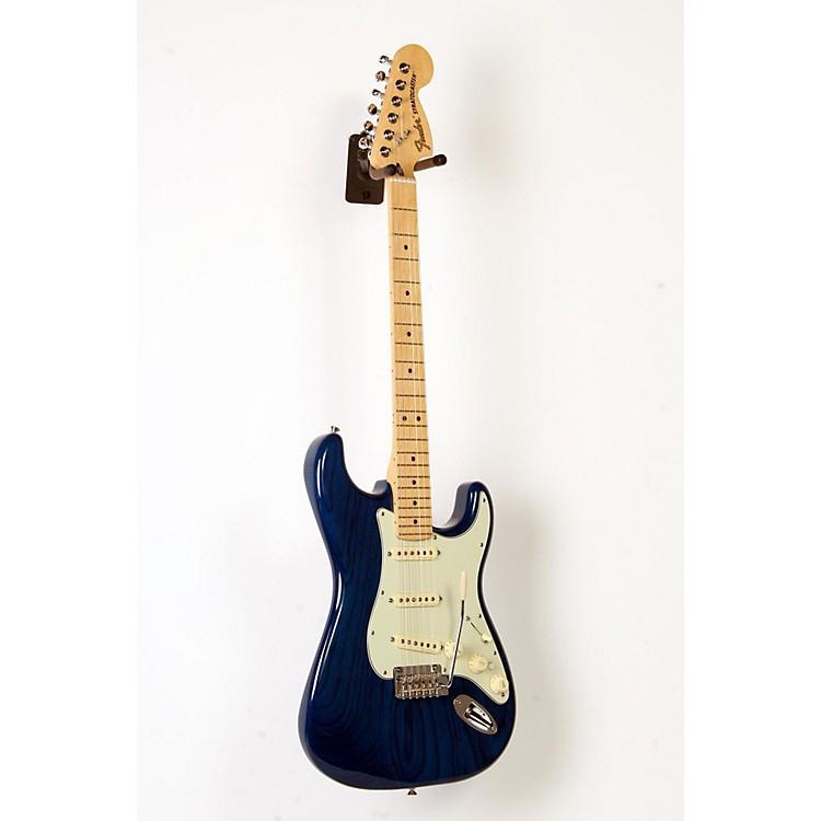 FenderDeluxe Stratocaster Maple FingerboardTransparent Sapphire Blue888365903965
