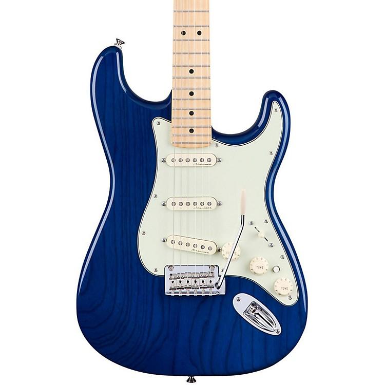 FenderDeluxe Stratocaster Maple FingerboardTransparent Sapphire Blue