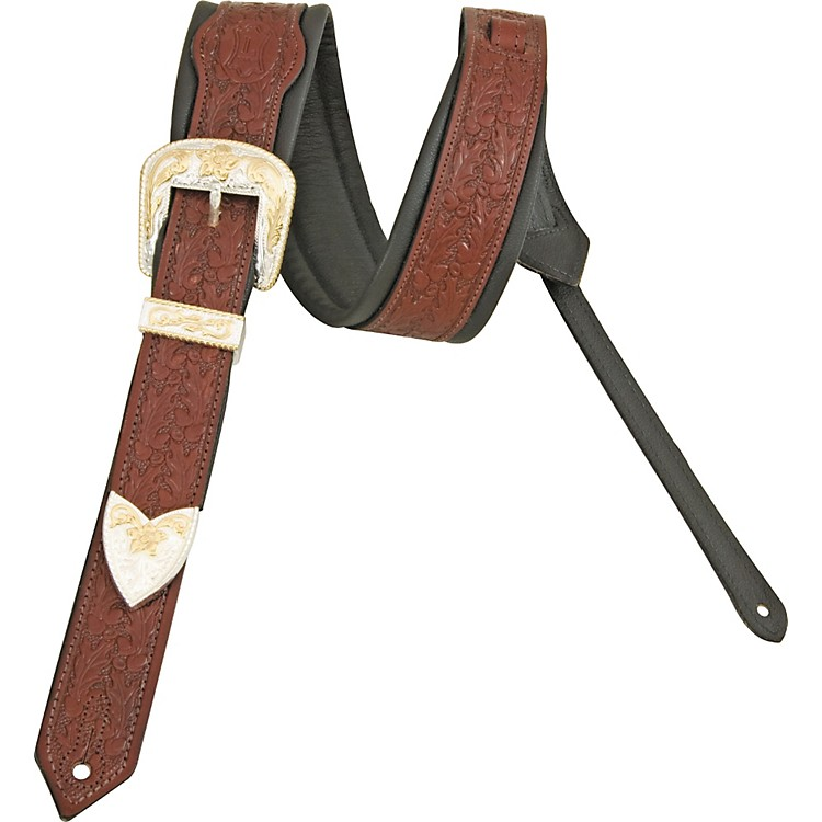 Levy's Deluxe Vintage Leather Guitar Strap