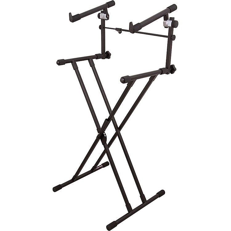 On-Stage StandsDeluxe X 2-Tier Keyboard Stand