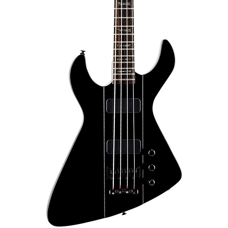 Dean Demonator 4 Bass Guitar Classic Black