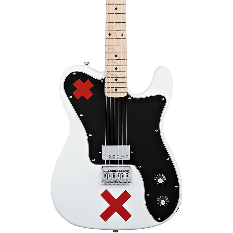 SquierDeryck Whibley Telecaster Electric GuitarOlympic White
