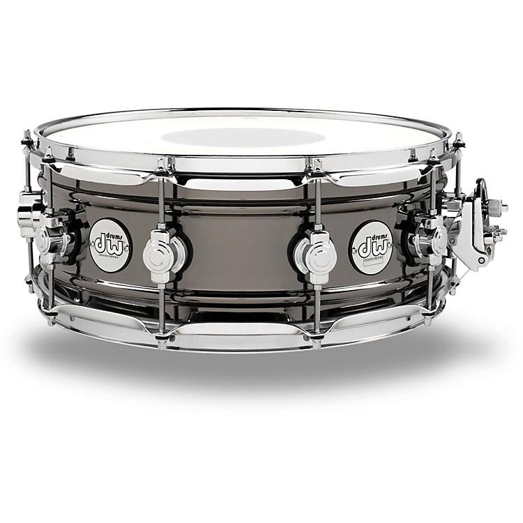 DWDesign Series Black Nickel over Brass Snare Drum14x5.5 Inch