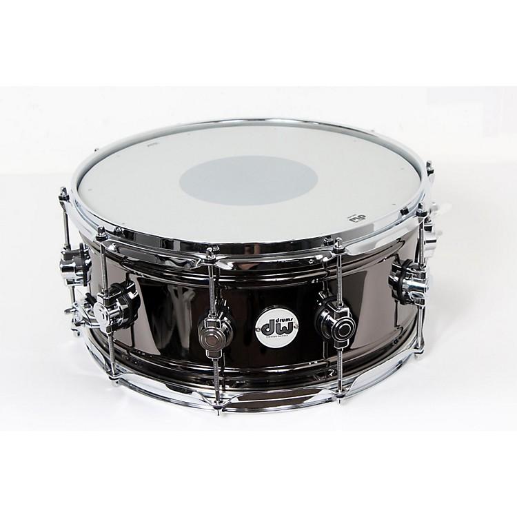DWDesign Series Black Nickel over Brass Snare Drum14x6.5 Inch888365904665