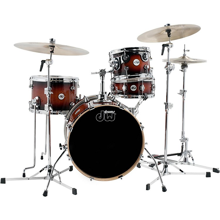 DW Design Series Mini-Pro 4-Piece Shell Pack Tobacco Burst