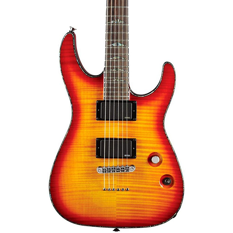 Charvel Desolation DX-1 ST Soloist Electric Guitar Cherry Sunburst
