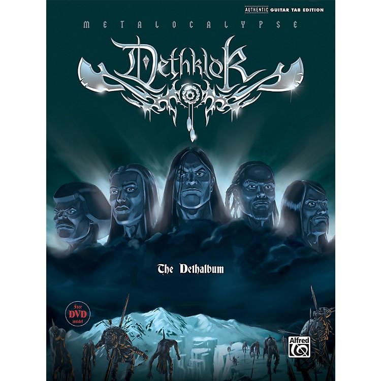 AlfredDethklok - Dethalbum Guitar Tab (Book/DVD)