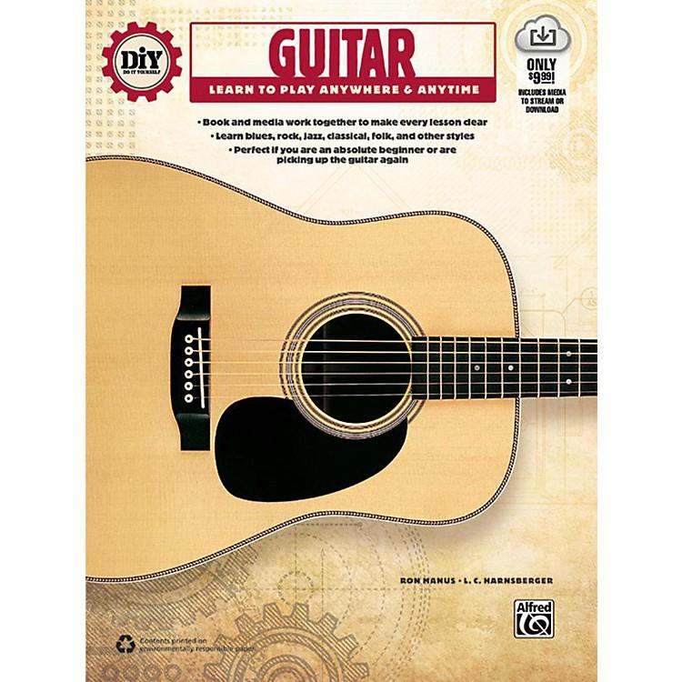 AlfredDiY (Do it Yourself) Guitar Book & Streaming Video