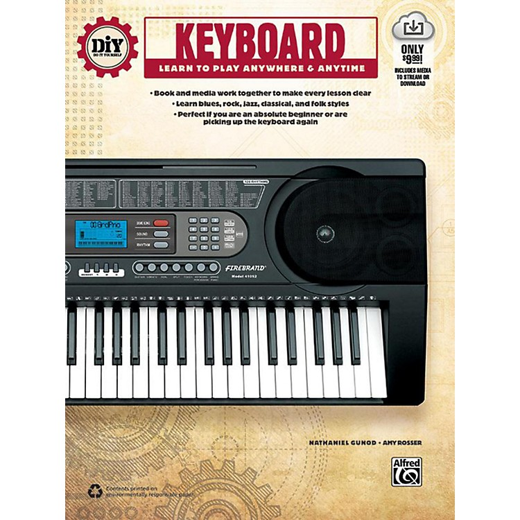 Alfred DiY (Do it Yourself) Keyboard Book & Streaming Video