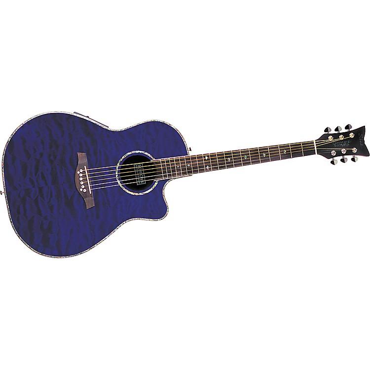 Schecter guitar research diamond series elite acoustic for Guitar domont