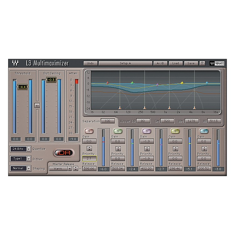 Waves Diamond TDM Plug-In Bundle