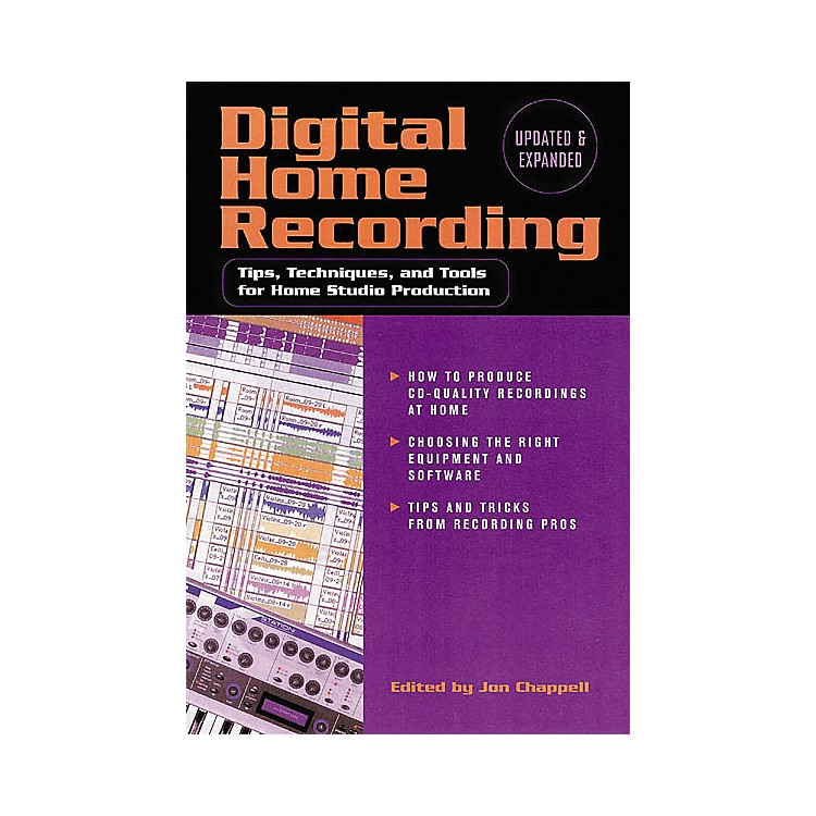 Hal LeonardDigital Home Recording, 2nd Edition Book
