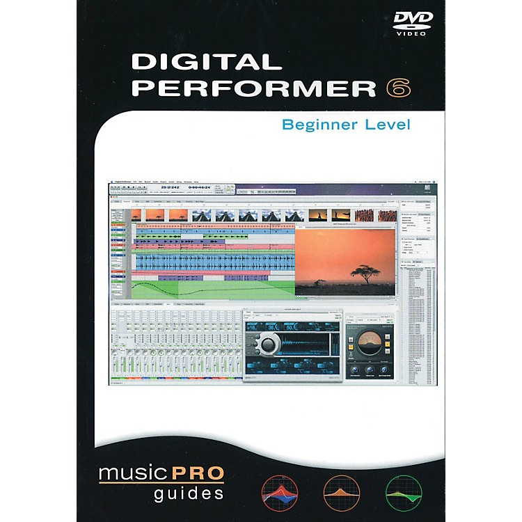 Hal Leonard Digital Performer 6, Beginner Level - Music Pro Guides (DVD)