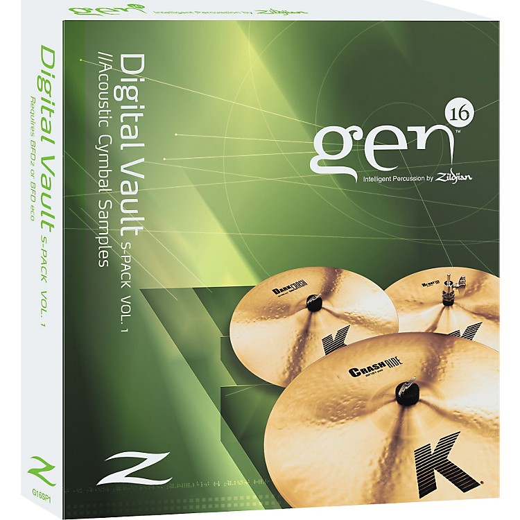 Gen16 Intelligent Percussion Digital Vault Sound Pack Volume 1