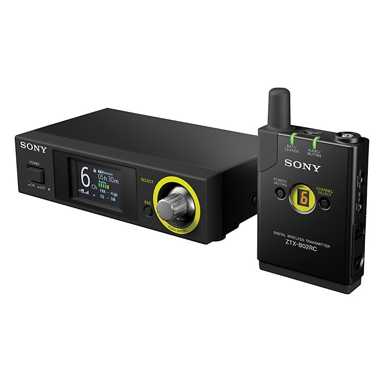 SonyDigital Wireless Advanced Headset & Lavalier Package