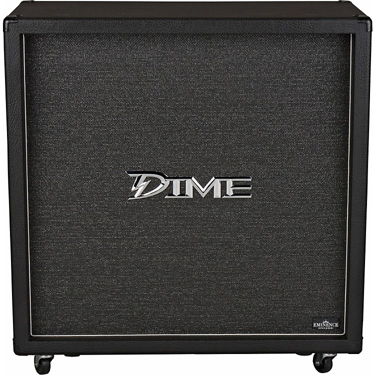 Dime Amplification Dimebag D412 300W 4x12 Guitar Speaker Cabinet Black Straight