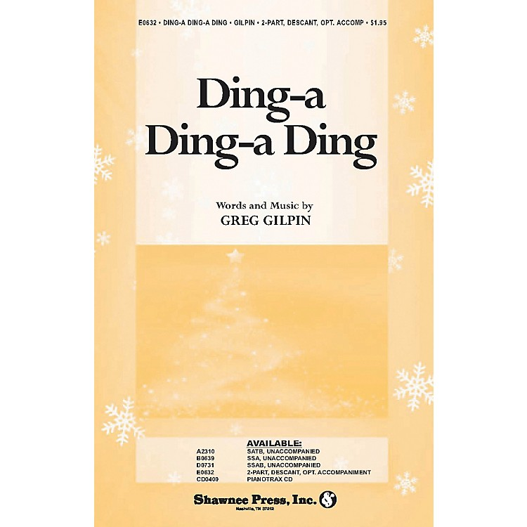 Hal LeonardDing A Ding A Ding 2-Part