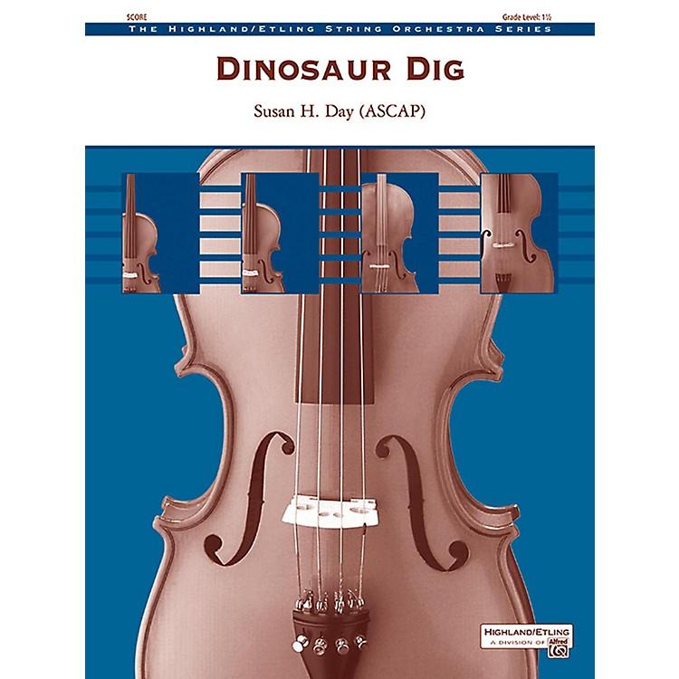AlfredDinosaur Dig String Orchestra Grade 1.5
