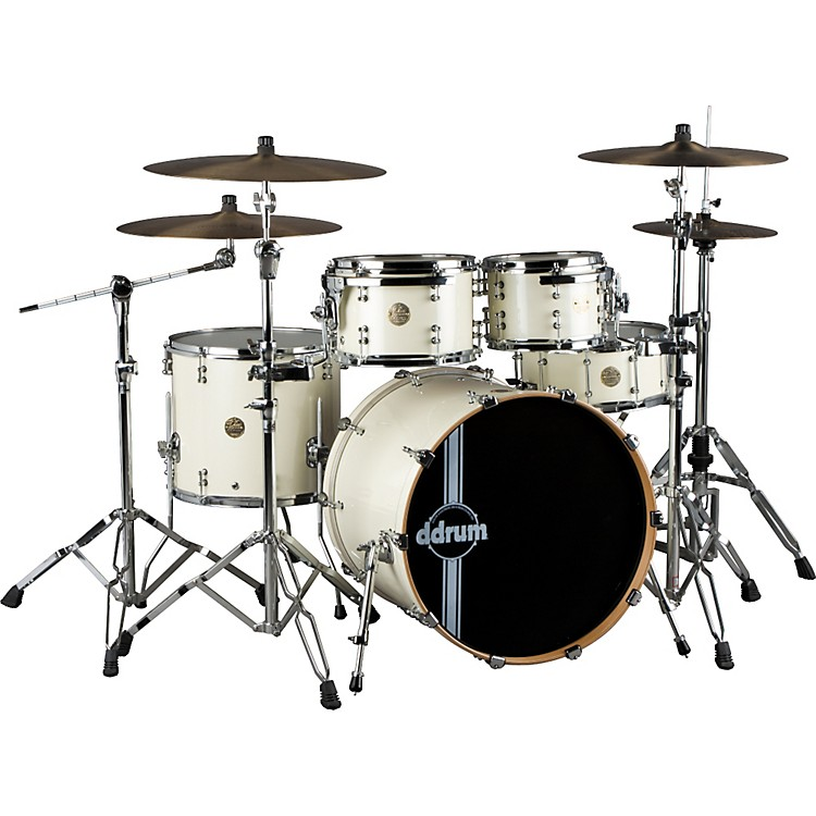ddrum Dios Maple Player 5-piece Shell Pack Pearl White