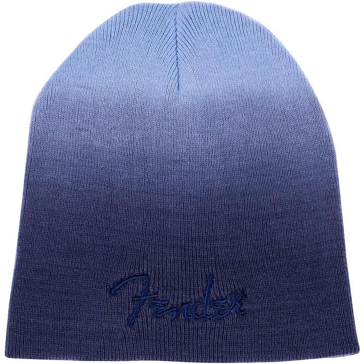 FenderDip Dye Logo BeanieGray/Blue