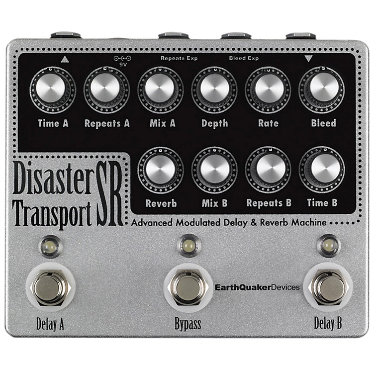 EarthQuaker DevicesDisaster Transport SR Advanced  Modulated Delay & Reverb Guitar Effects Pedal