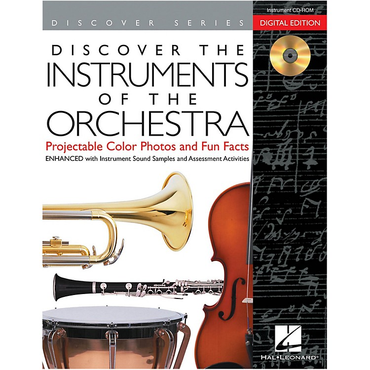 Hal LeonardDiscover The Instruments Of The Orchestra: Digital Version CD-ROM