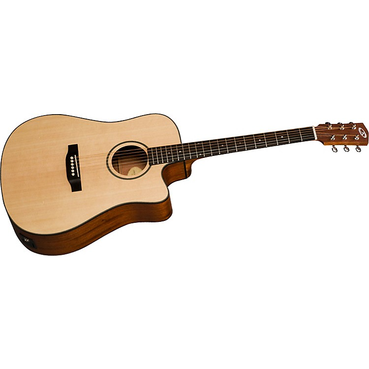 BedellDiscovery BDDCE-18-M Dreadnaught Cutaway Acoustic-Electric Guitar