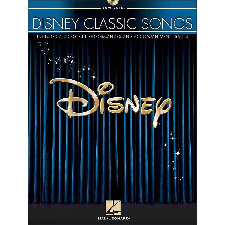 Hal LeonardDisney Classic Songs for Low Voice Book/CD