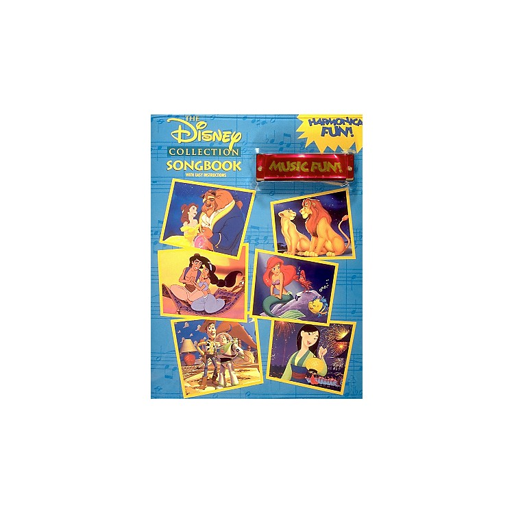 Hal Leonard Disney Collection - Harmonica Fun! Pack