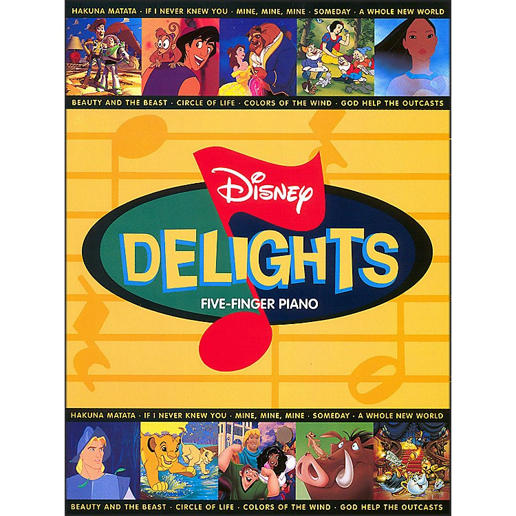 Hal Leonard Disney Delights for Five Finger Piano
