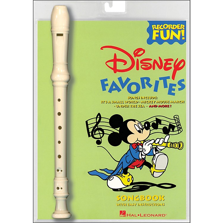 Hal Leonard Disney Favorites Recorder Fun! Pack
