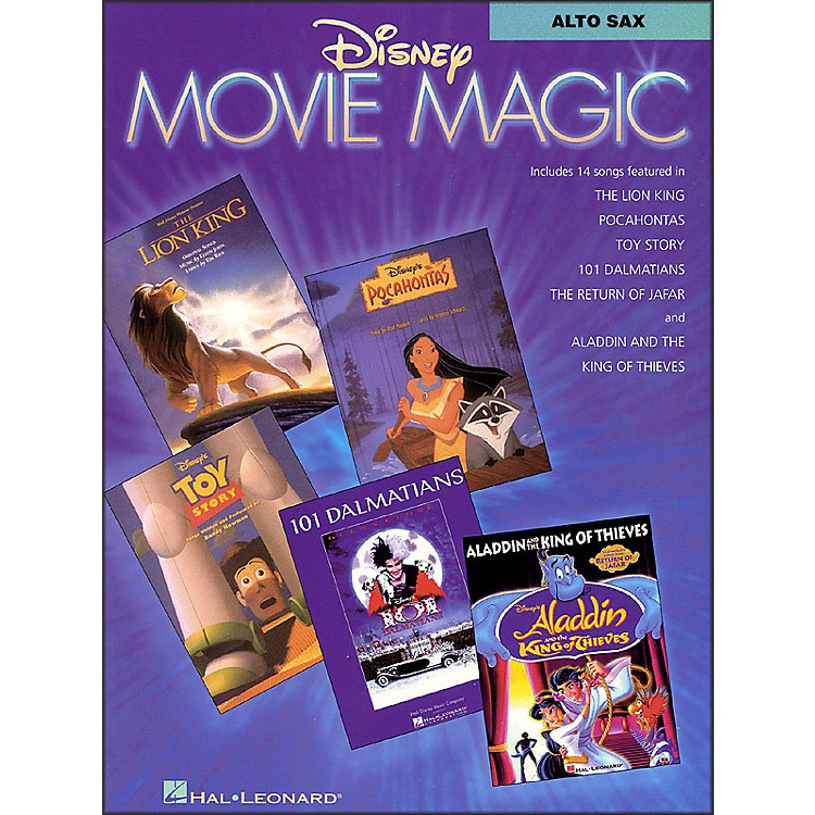 Hal Leonard Disney Movie Magic for Alto Sax