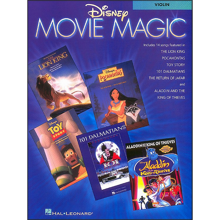 Hal Leonard Disney Movie Magic for Violin