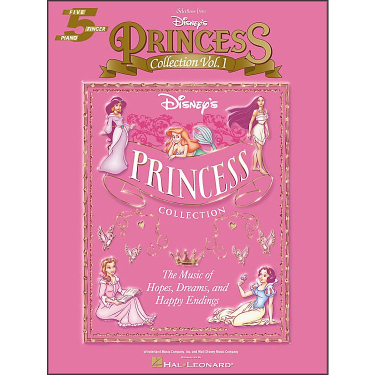Hal Leonard Disney's Princess Collection Volume 1 Selections for Five Finger Piano