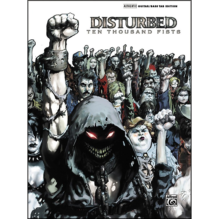 AlfredDisturbed 10000 Fists Guitar Tab Songbook