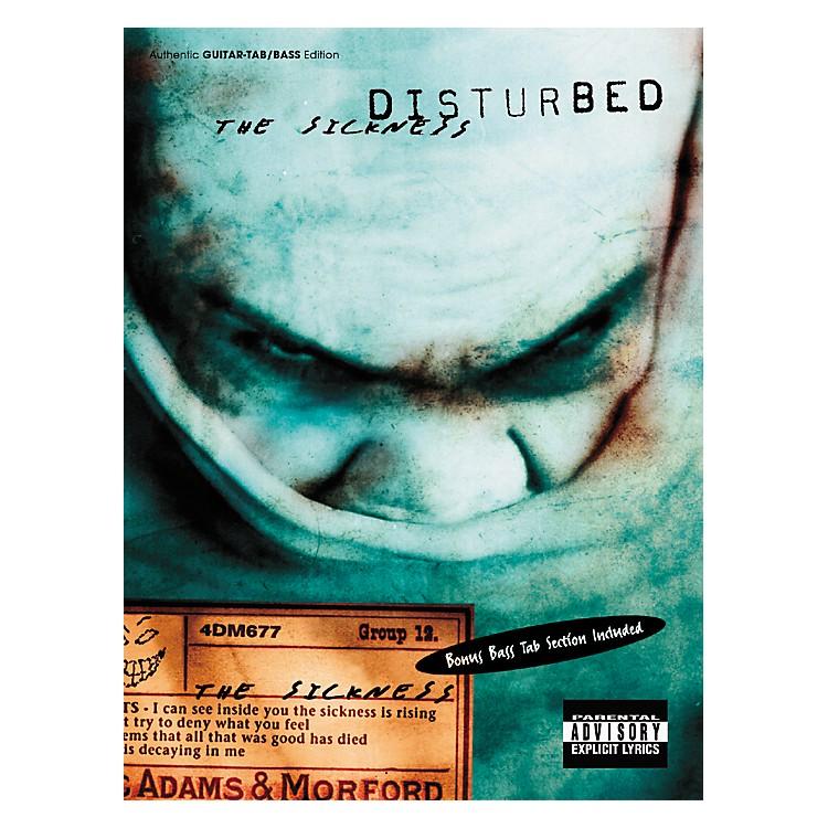 Hal LeonardDisturbed The Sickness Guitar & Bass Tab Book