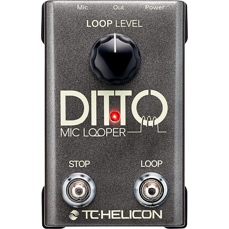 TC HeliconDitto Mic Looper Pedal