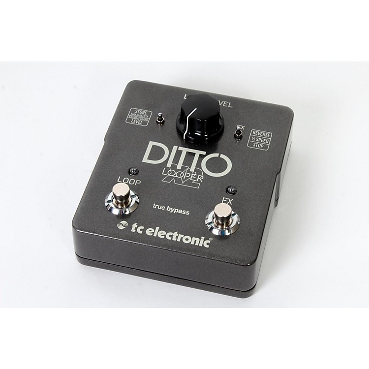 TC Electronic Ditto X2 Looper Effects Pedal Regular 888365777573