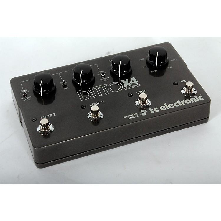 TC ElectronicDitto X4 Looper Effects PedalRegular888365901688