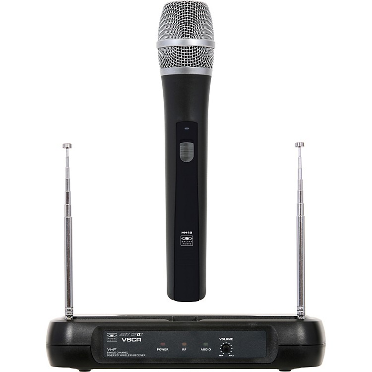 Galaxy AudioDiversity VHF Wireless Handheld Microphone System
