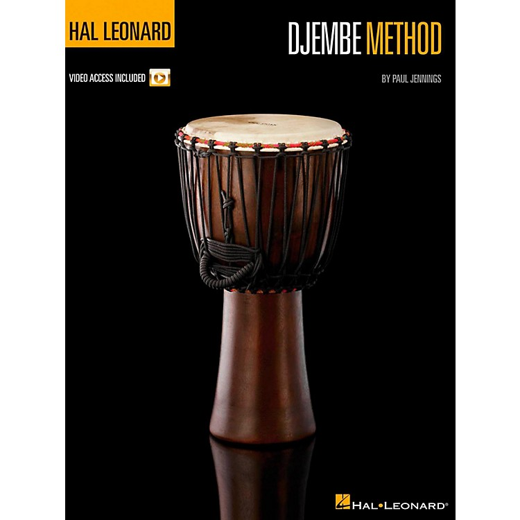 Hal Leonard Djembe Method Book/Online Video
