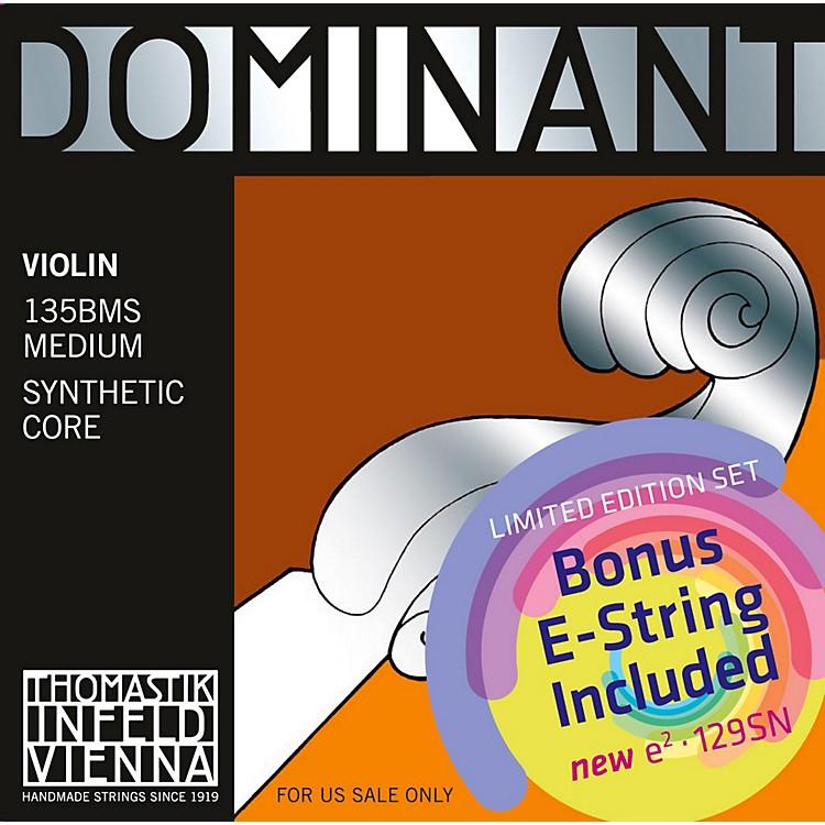 ThomastikDominant 135BMS Bonus Set with Free Dominant Tin-Plated E String