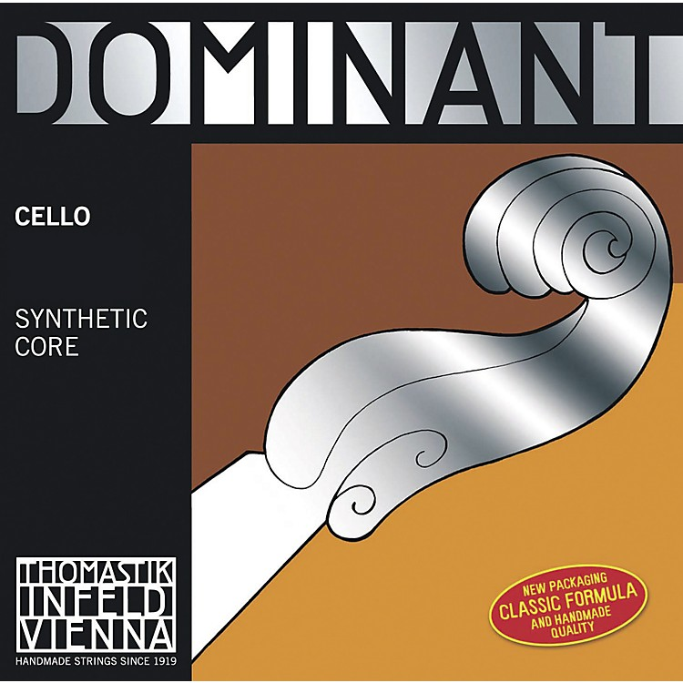 Thomastik Dominant 4/4 Size Light (Weich) Cello Strings 4/4 G String